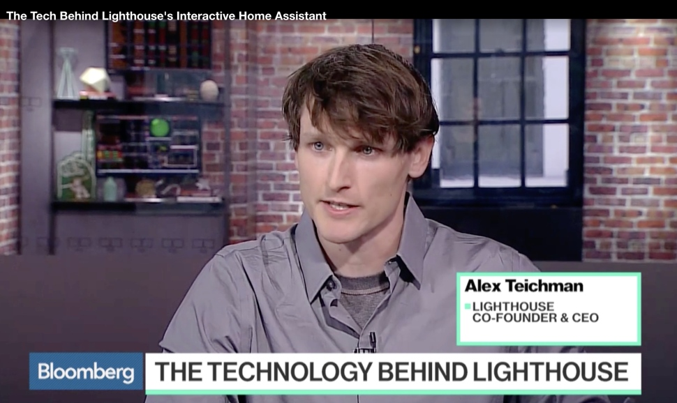 Bloomberg TV - Alex Teichman Lighthouse